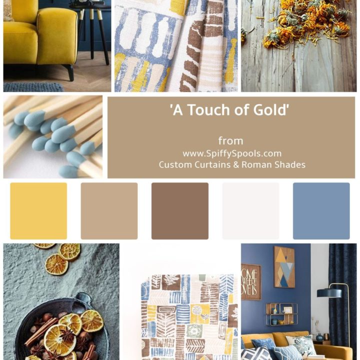 MONDAY MOOD: INSPIRED BY 'A TOUCH OF GOLD'