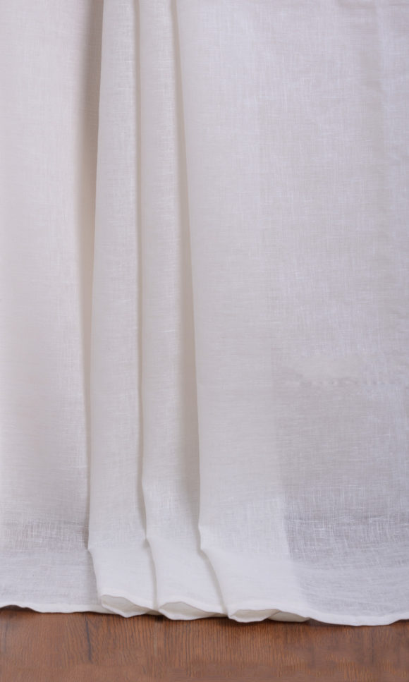White & Ivory Custom Drapes
