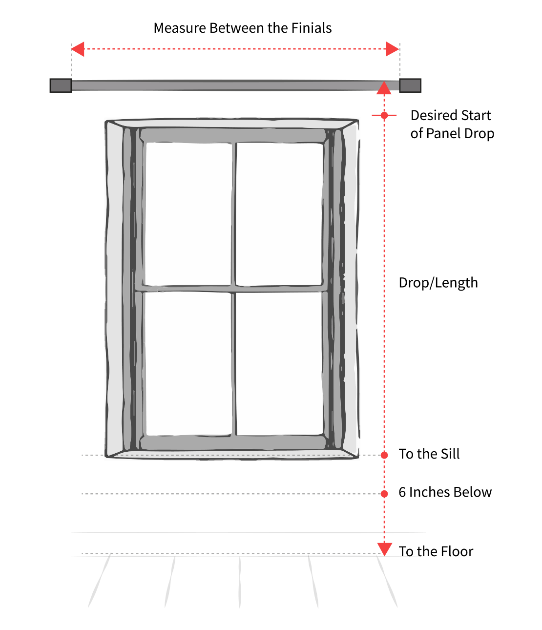 Tie Top Curtains