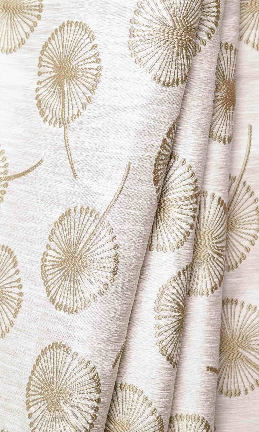 Floral Custom Drapes For Dining Room