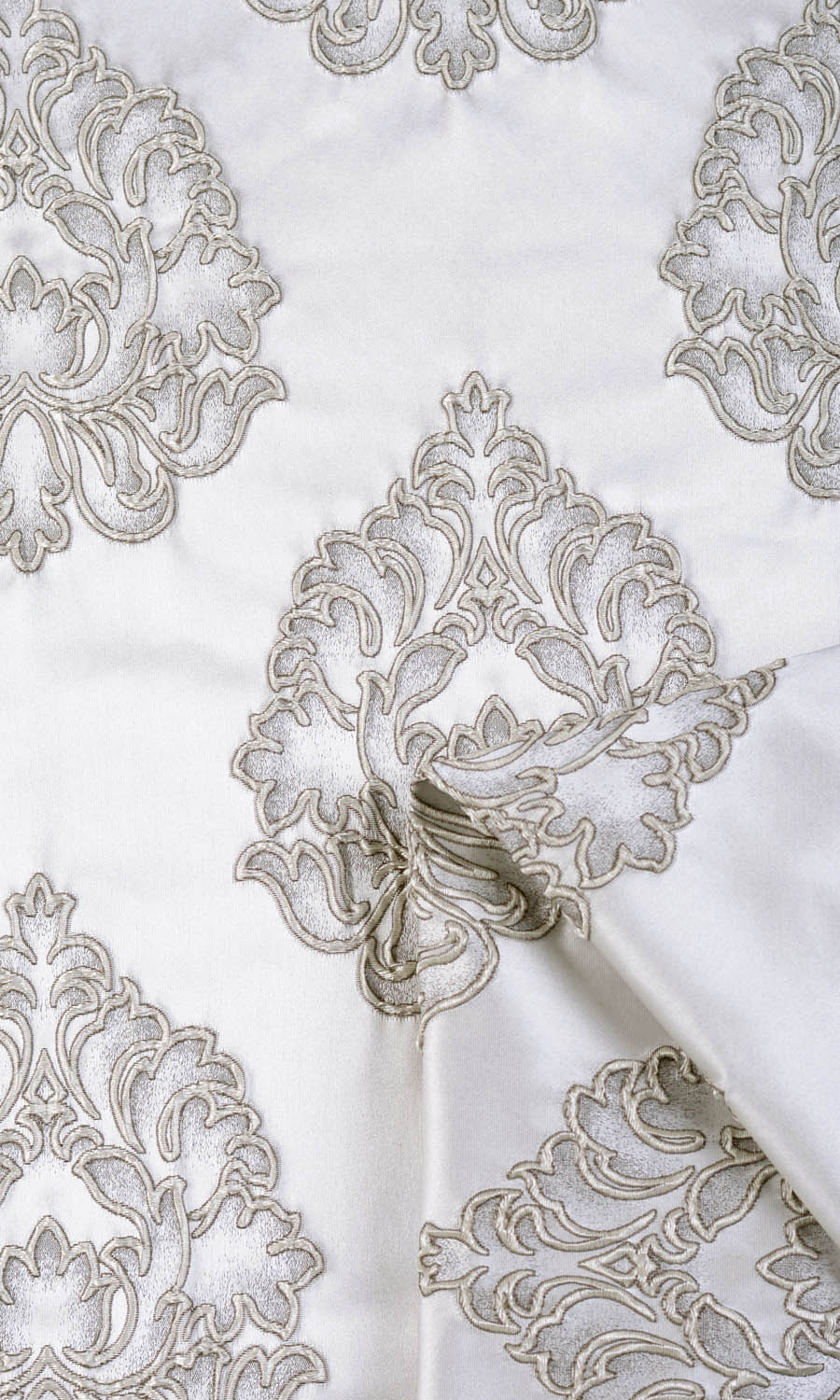 Floral Triple Pinches Custom Drapes