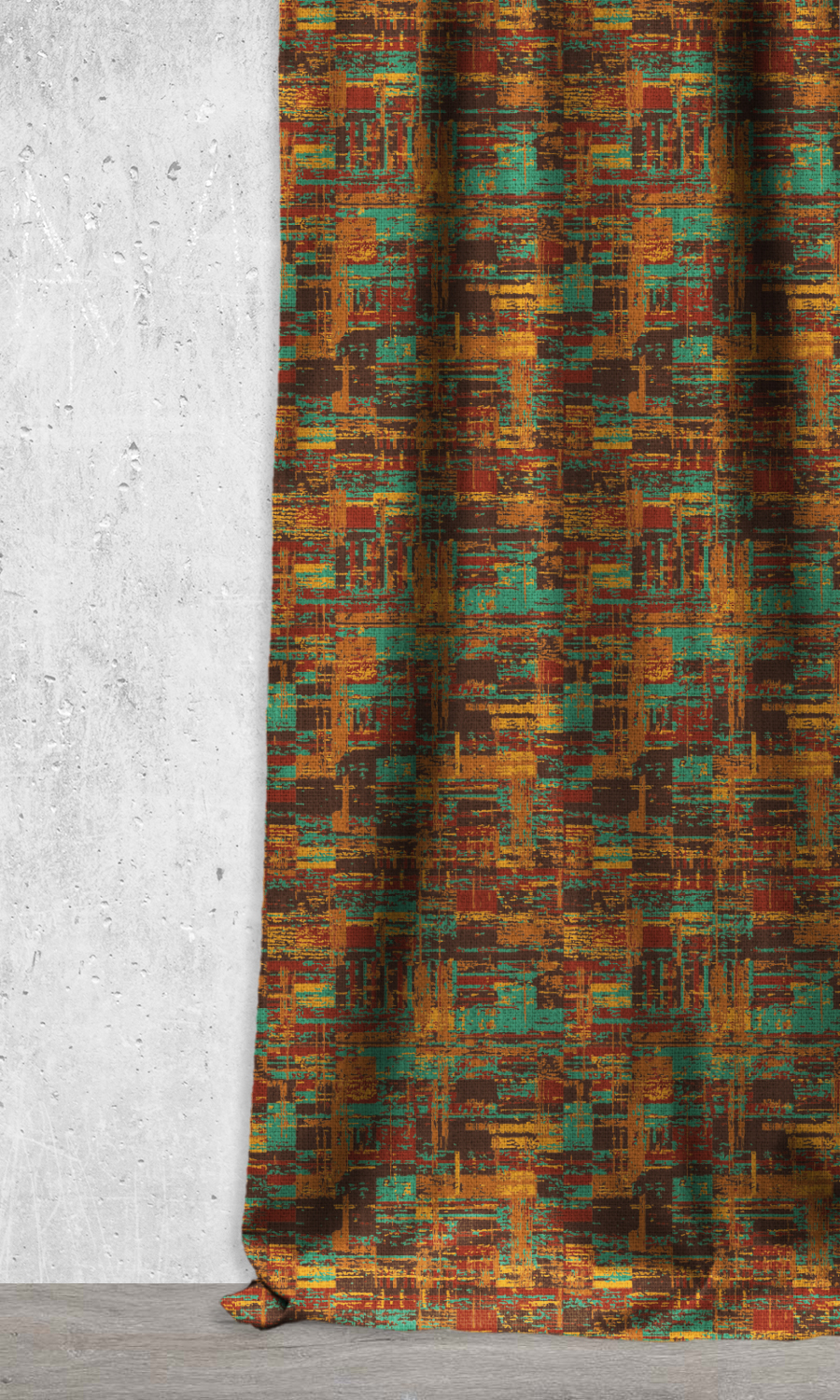 Affordable Abstract Window Treatments