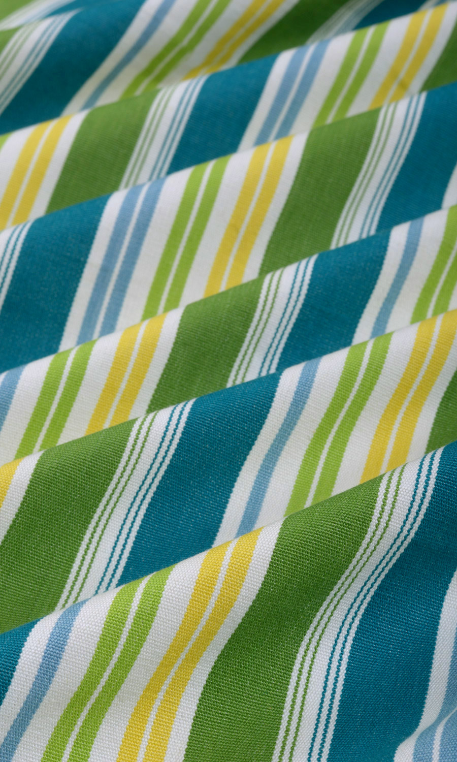 Striped Printed Printed Cotton Custom Drapes For Dining Room