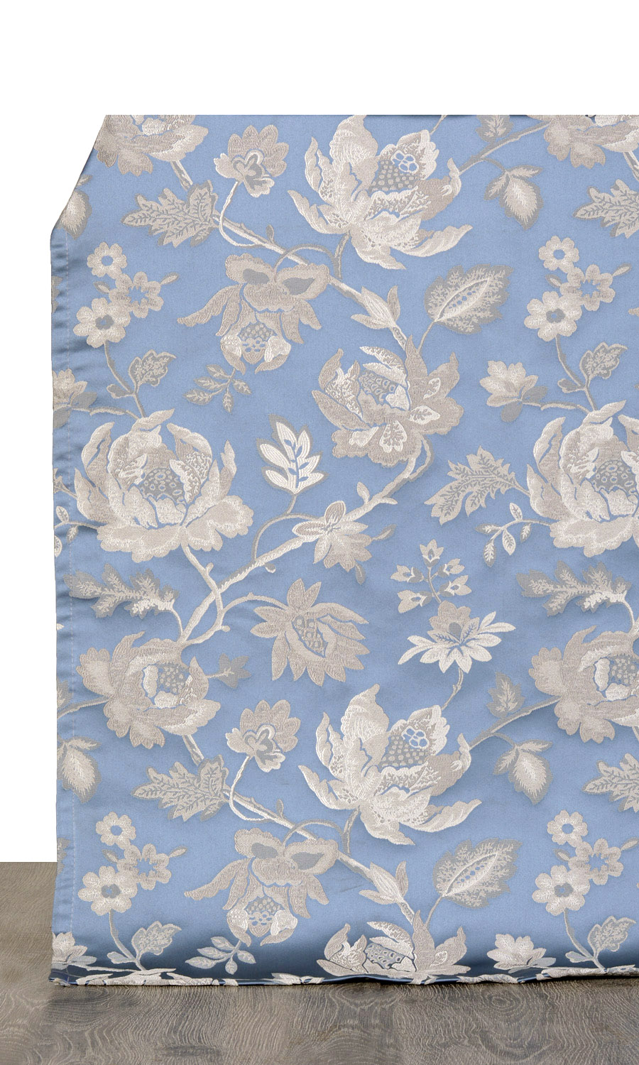 Floral Custom Drapes For Bedroom