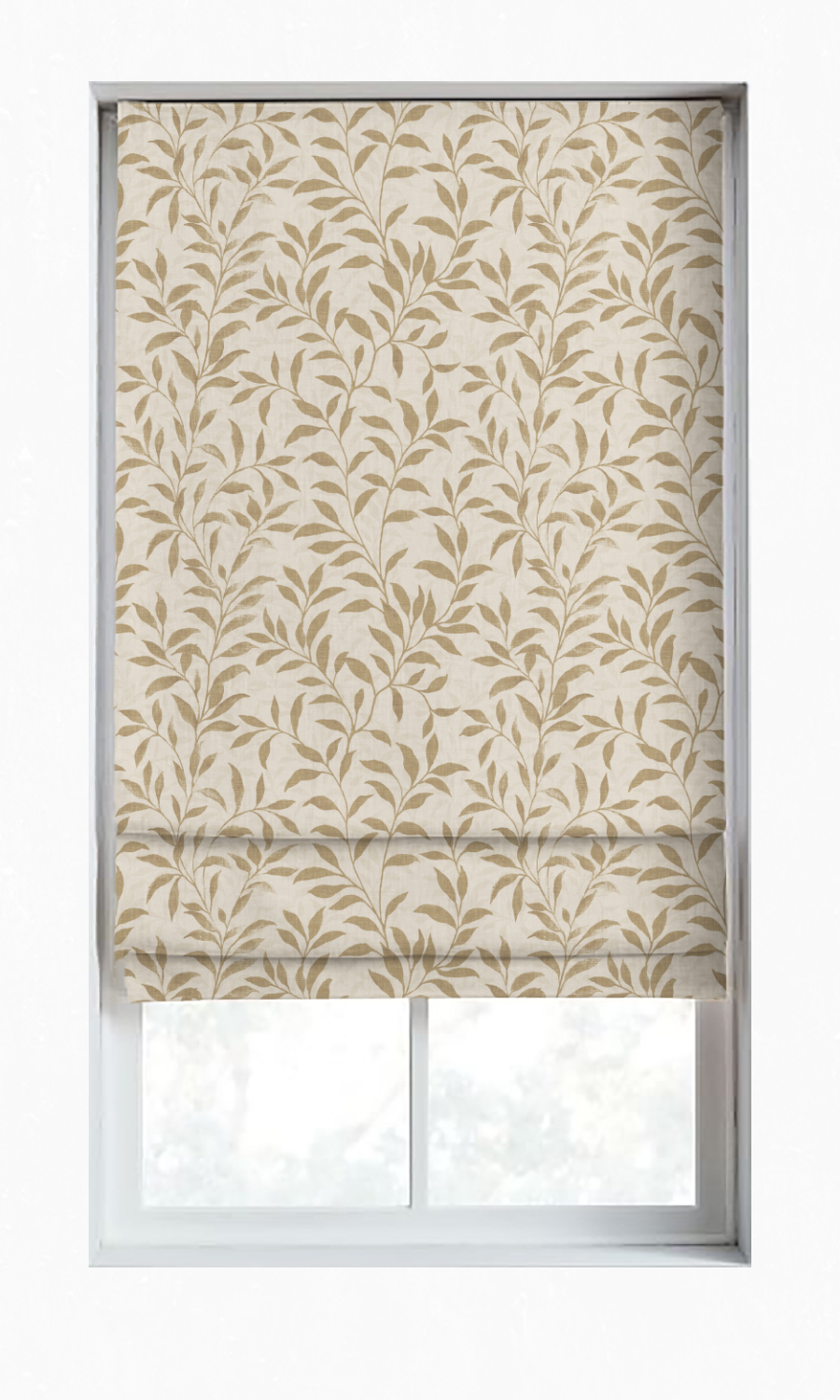 Floral Printed Custom Shade For Bedroom