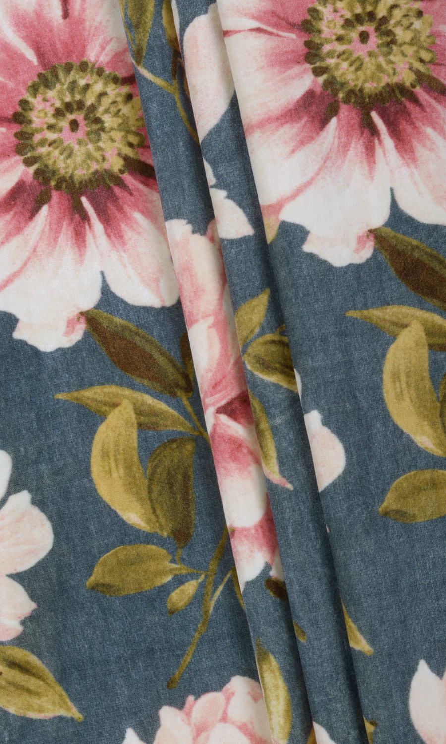 Floral Printed Custom Drapes For Girls Room