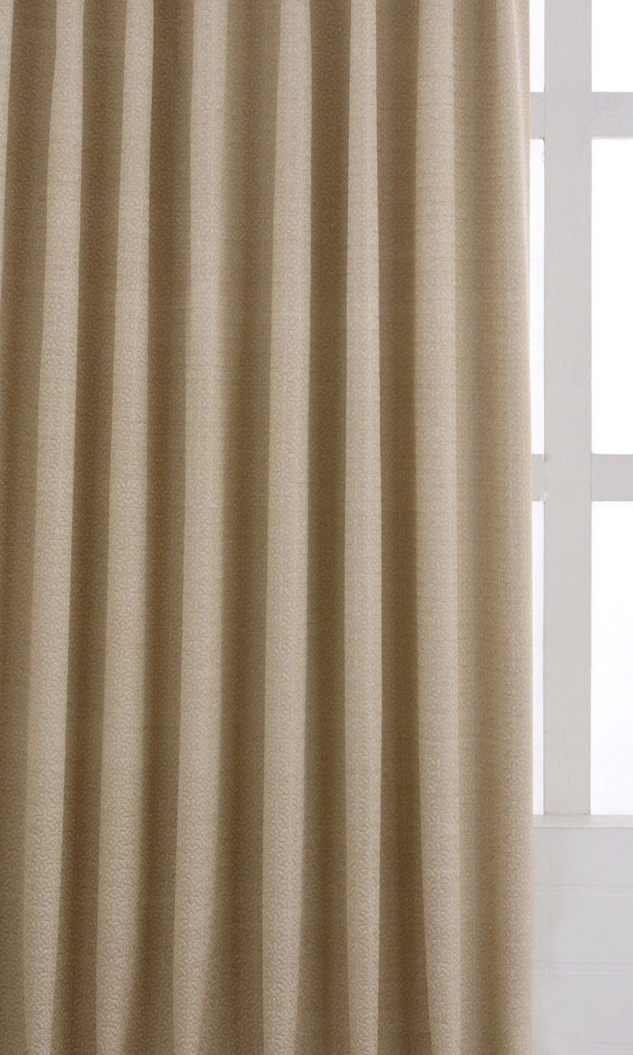 Beige Blackout Custom Roman Blinds For Kitchen