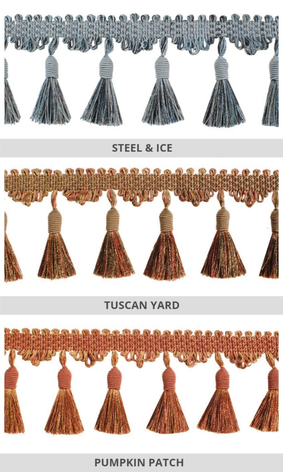 Tassel Trims For Fake Shades & Panels