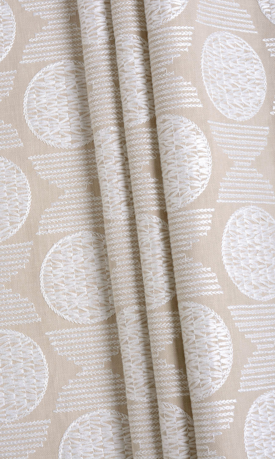 Geometric Patterned Curtains For Bedroom