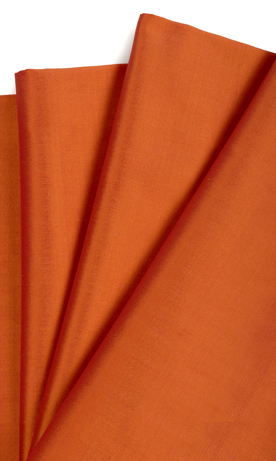 Orange Silk Custom Window Treatments