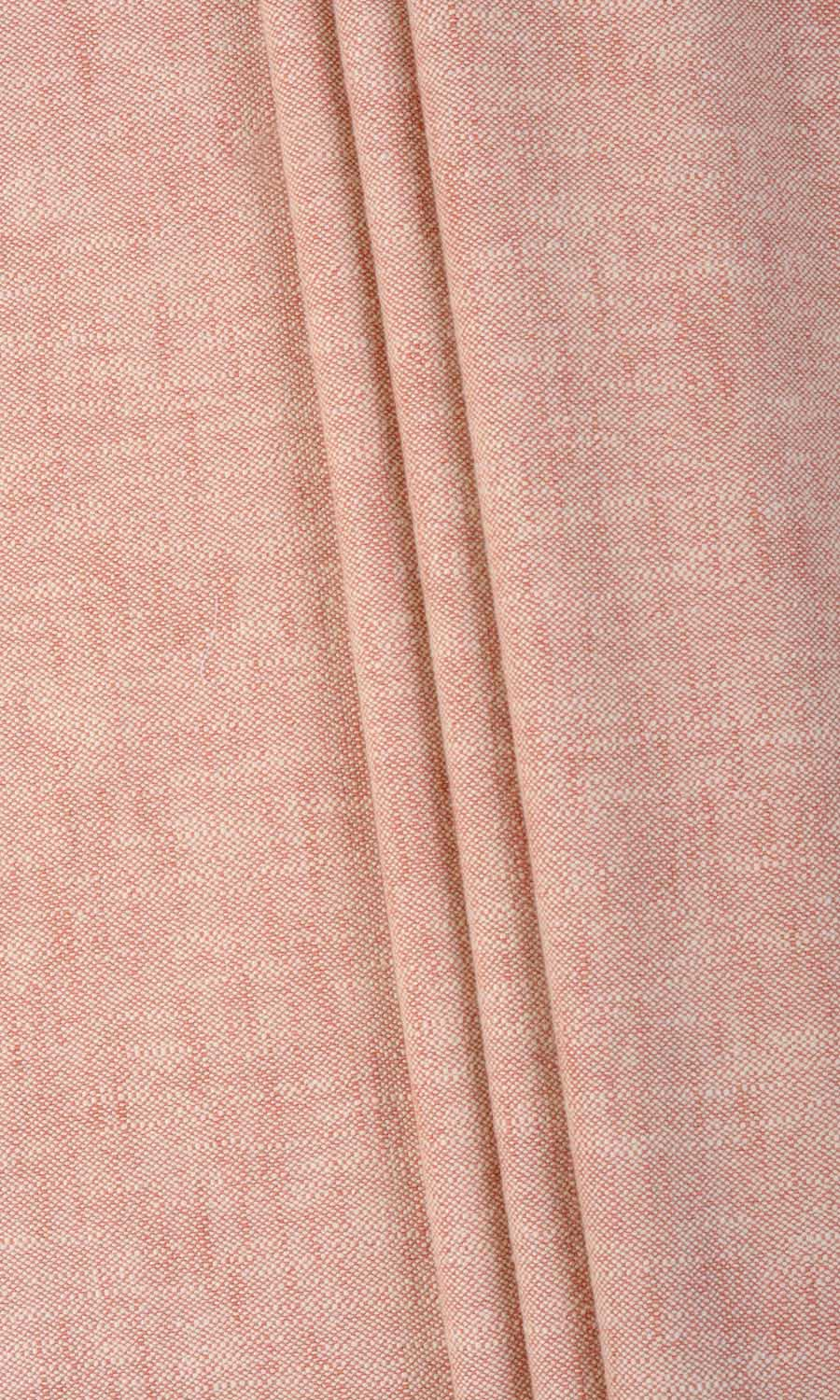 Pink Cotton Custom Roman Blinds
