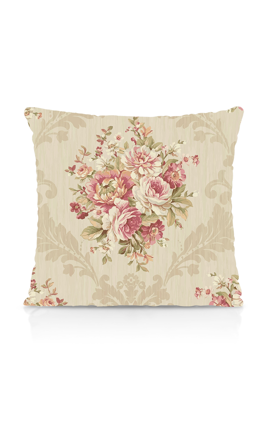 Floral Printed Custom Cushion For Dining Room