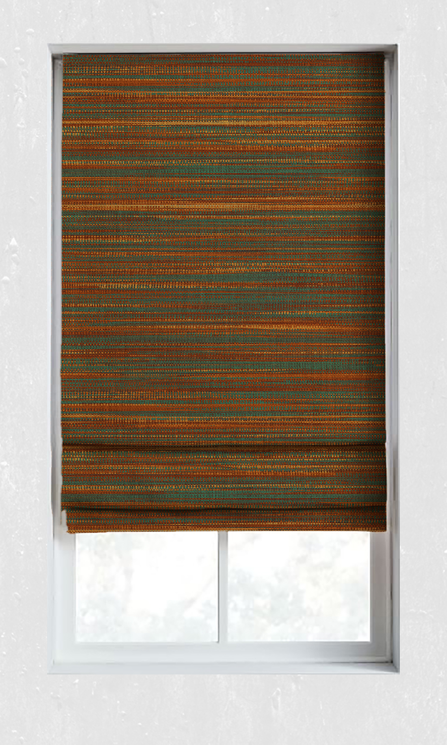 Custom Roman Blinds For Kitchen