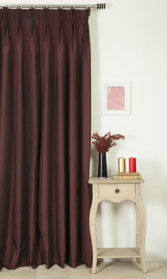 Silk Custom Roman Shades