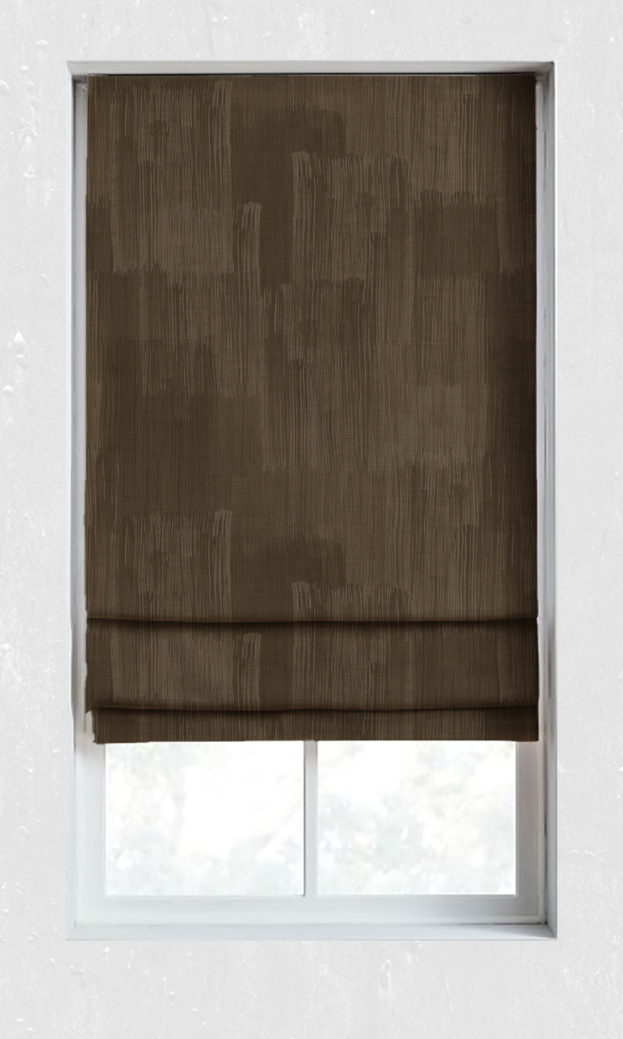 Brown Roman Blinds For Living Room