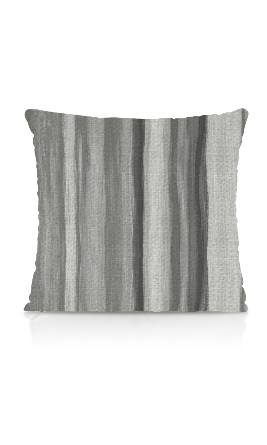 Grey Pipe Edge Cushion
