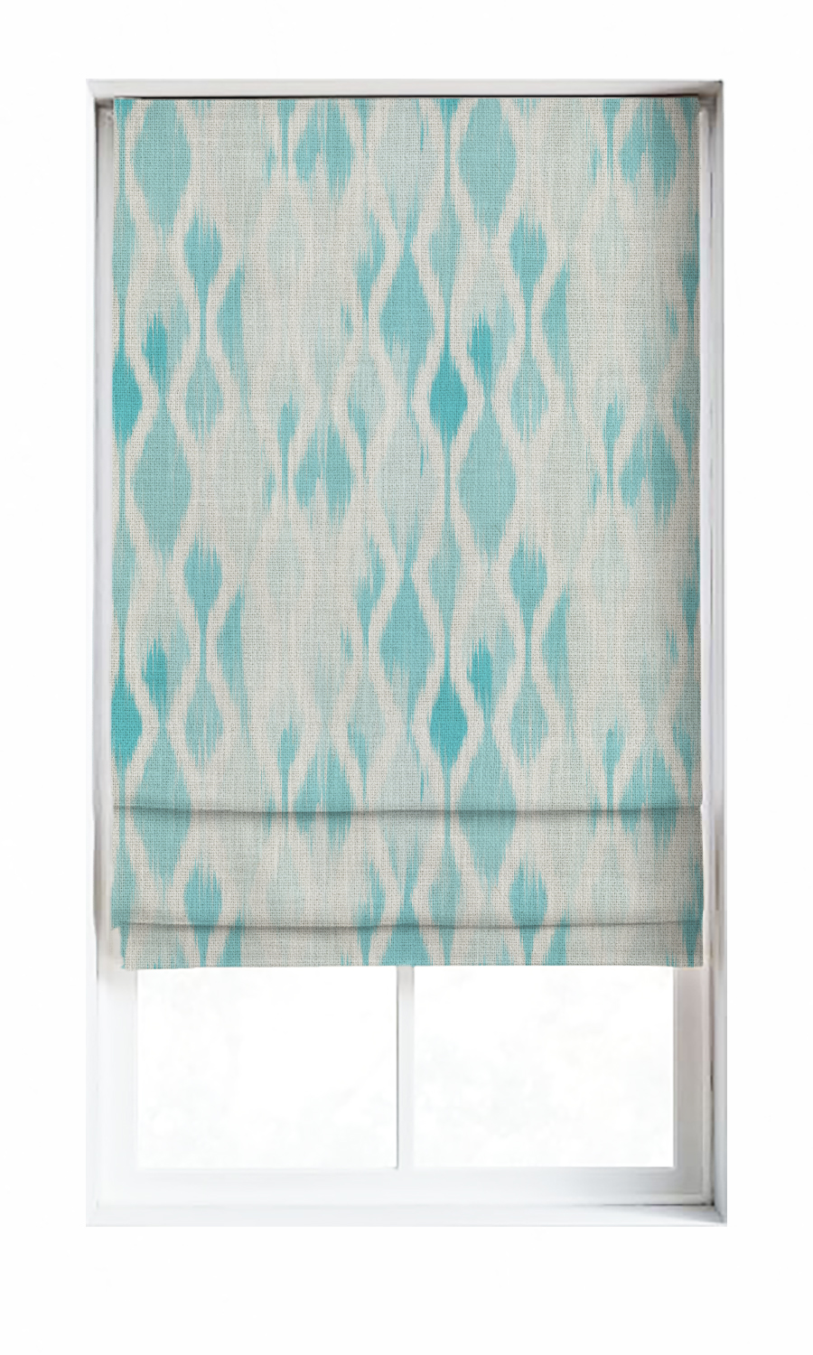 Printed Roman Blinds For Living Room