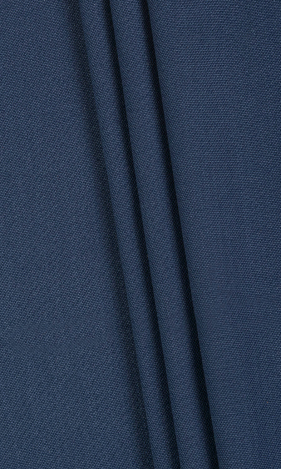 Blue Cotton Custom Curtains