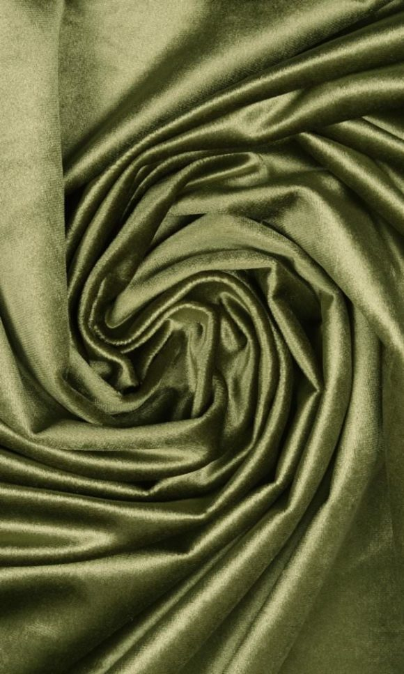 Green Extra Wide Custom Curtains