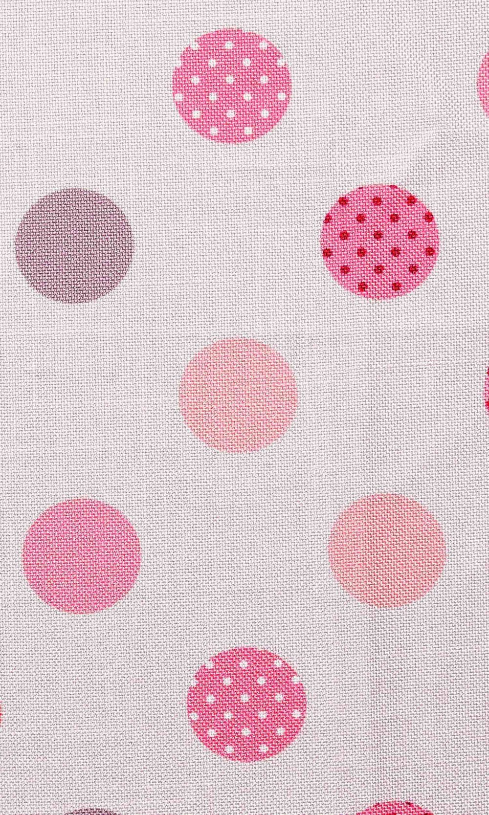 Red & White Kids Room Window Blinds