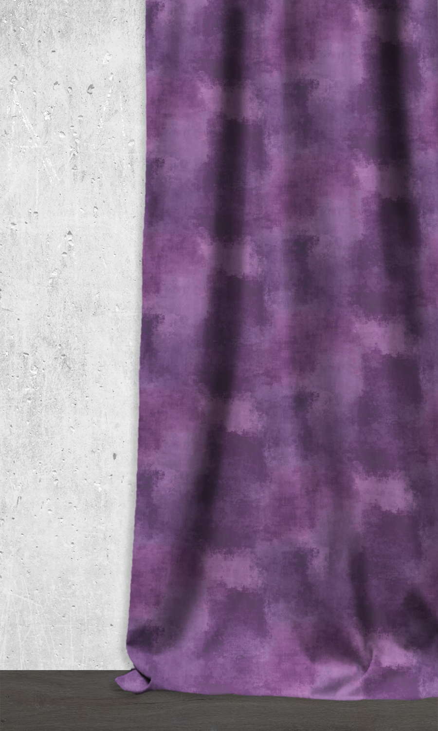 Purple Extra Long Custom Curtains