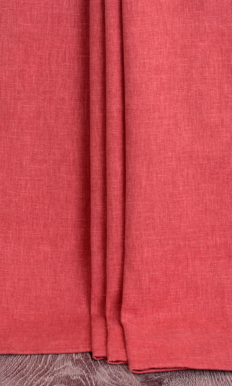 Red Cotton Custom Drapes
