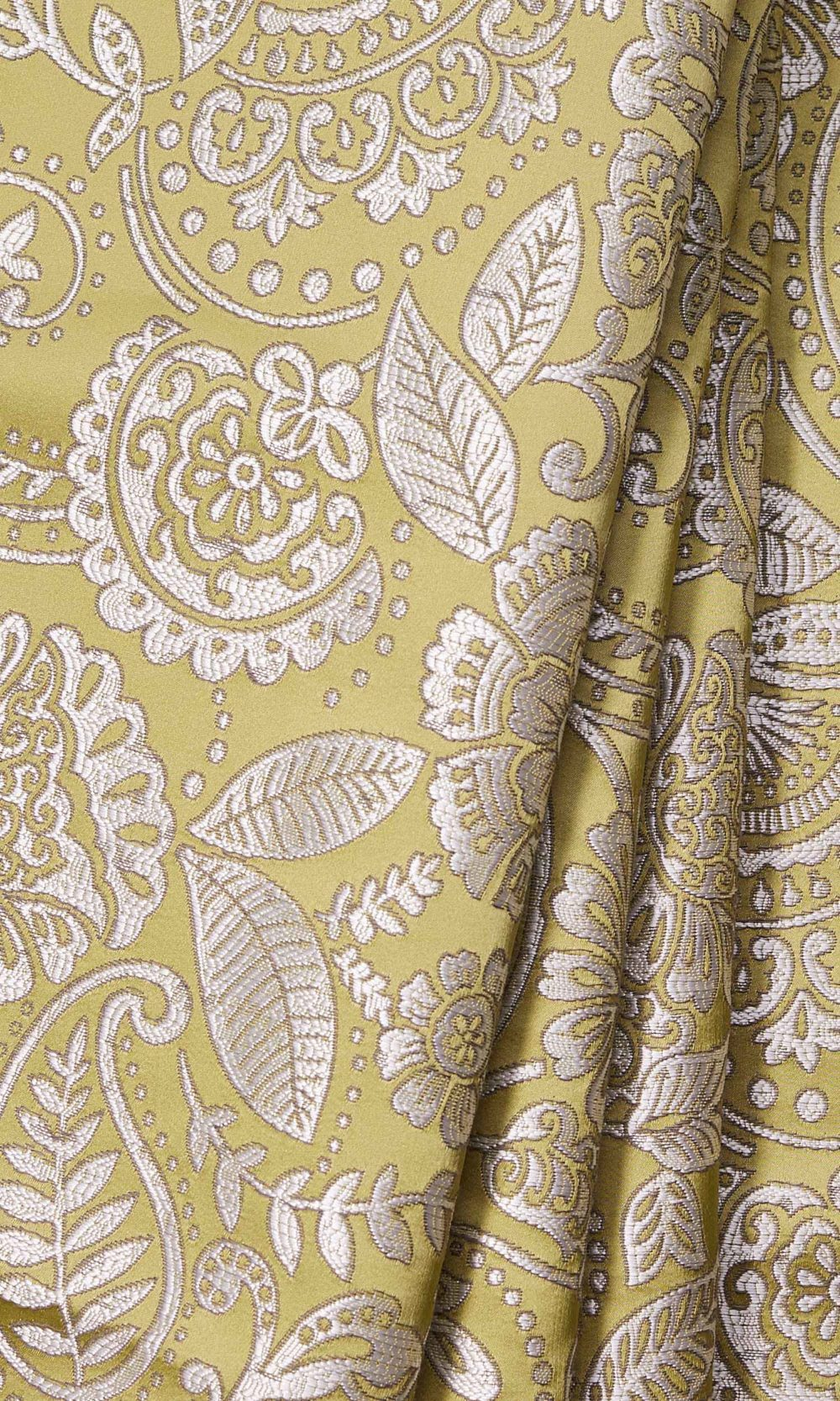 Yellow Printed Roman Shade For Living Room