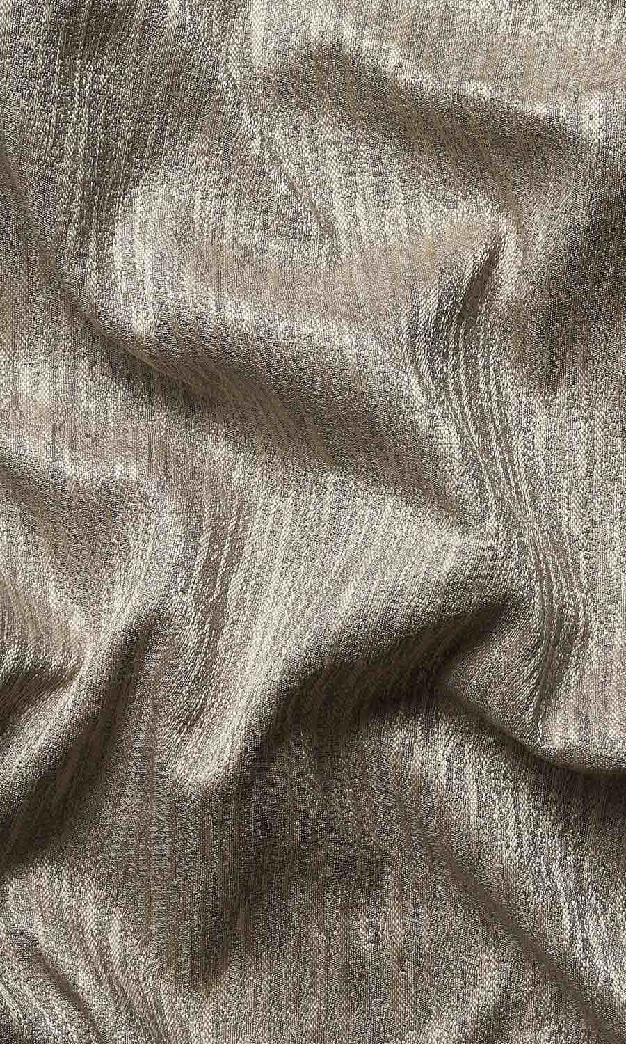 Grey Textured Fake Roman Shade For Dining Room