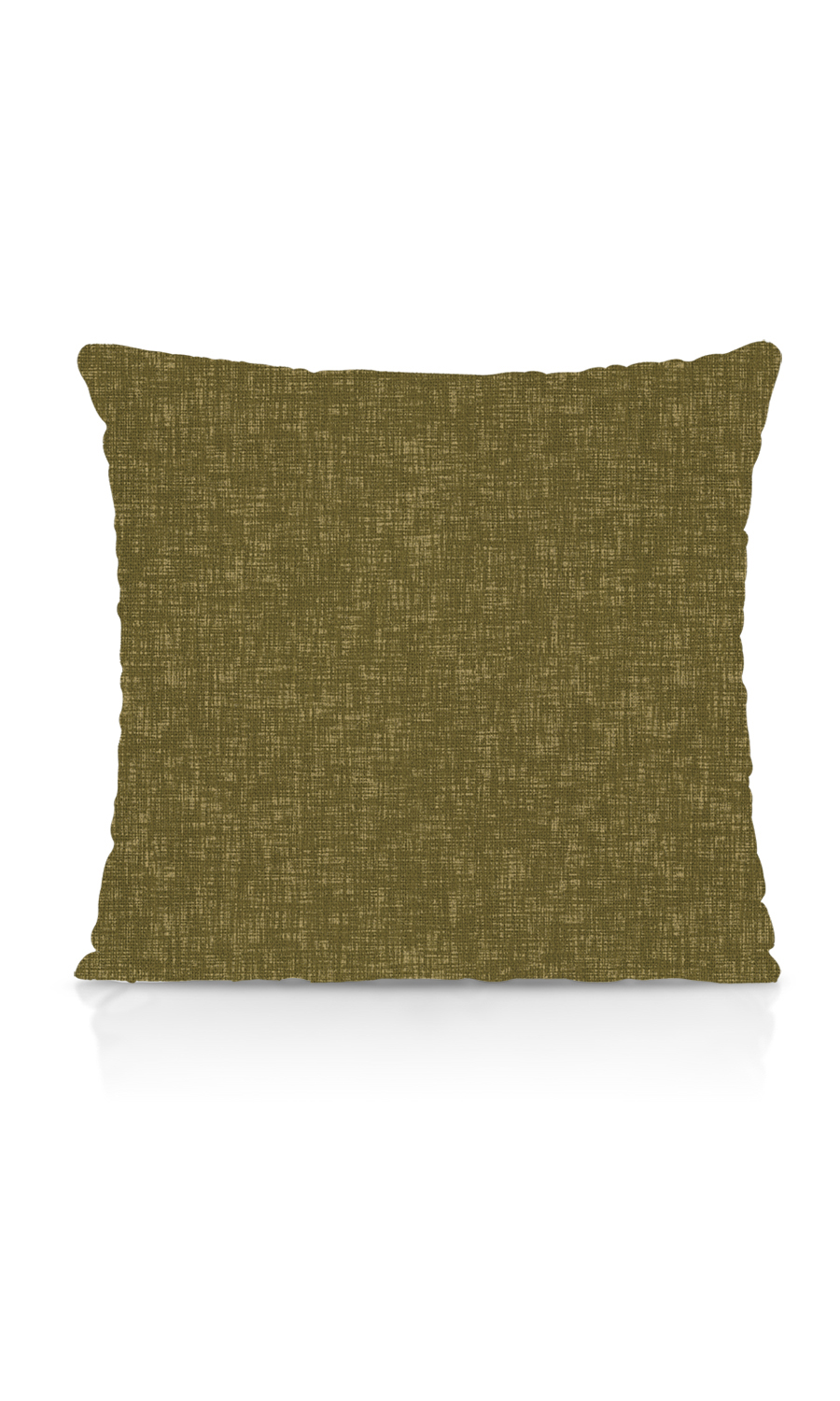 Green Plain Custom Cushions