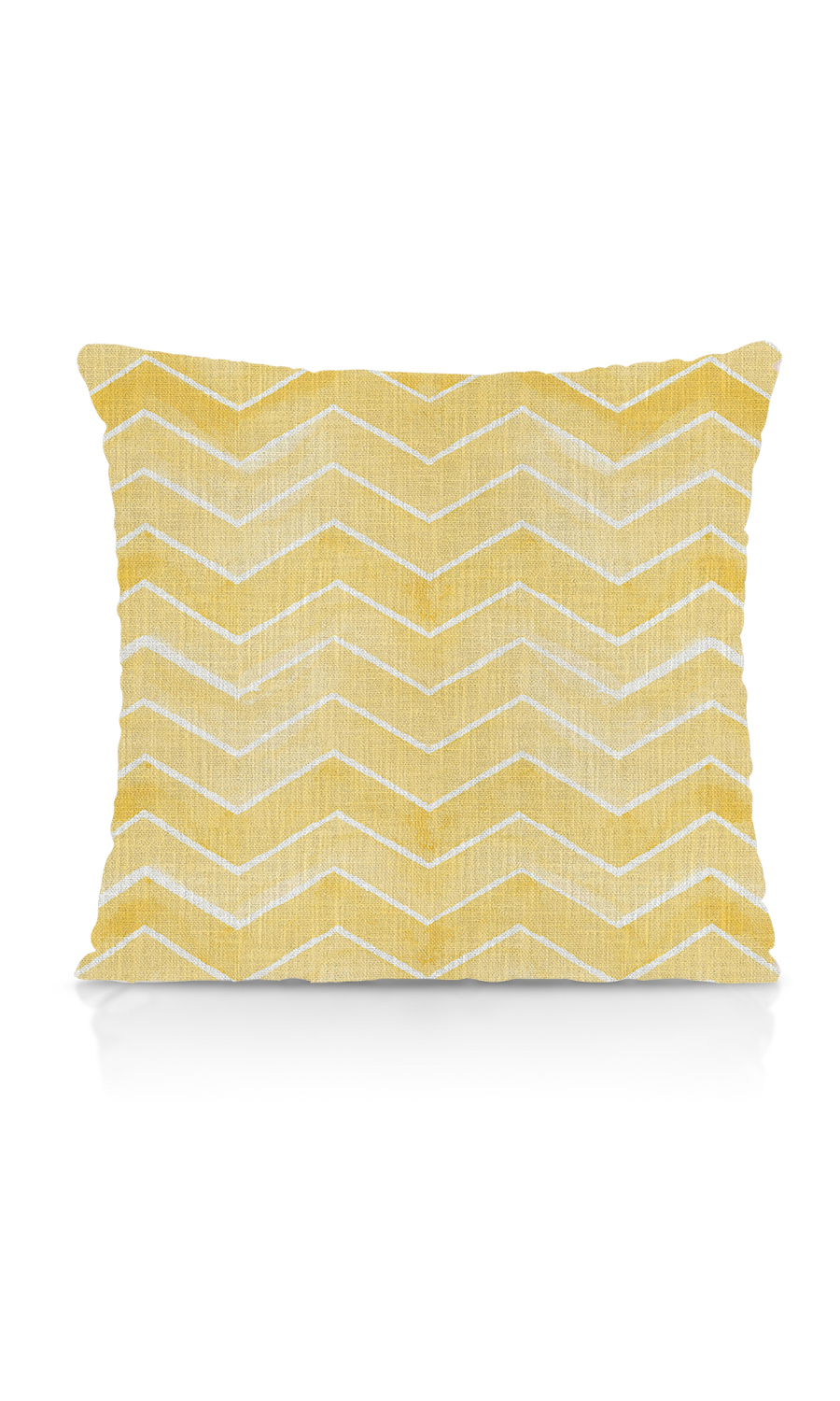 Floral Printed Zig Zag Budget Cushion Cover