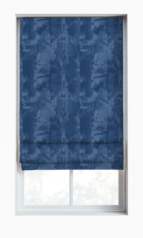 Abstract Affordable Custom Roman Shades