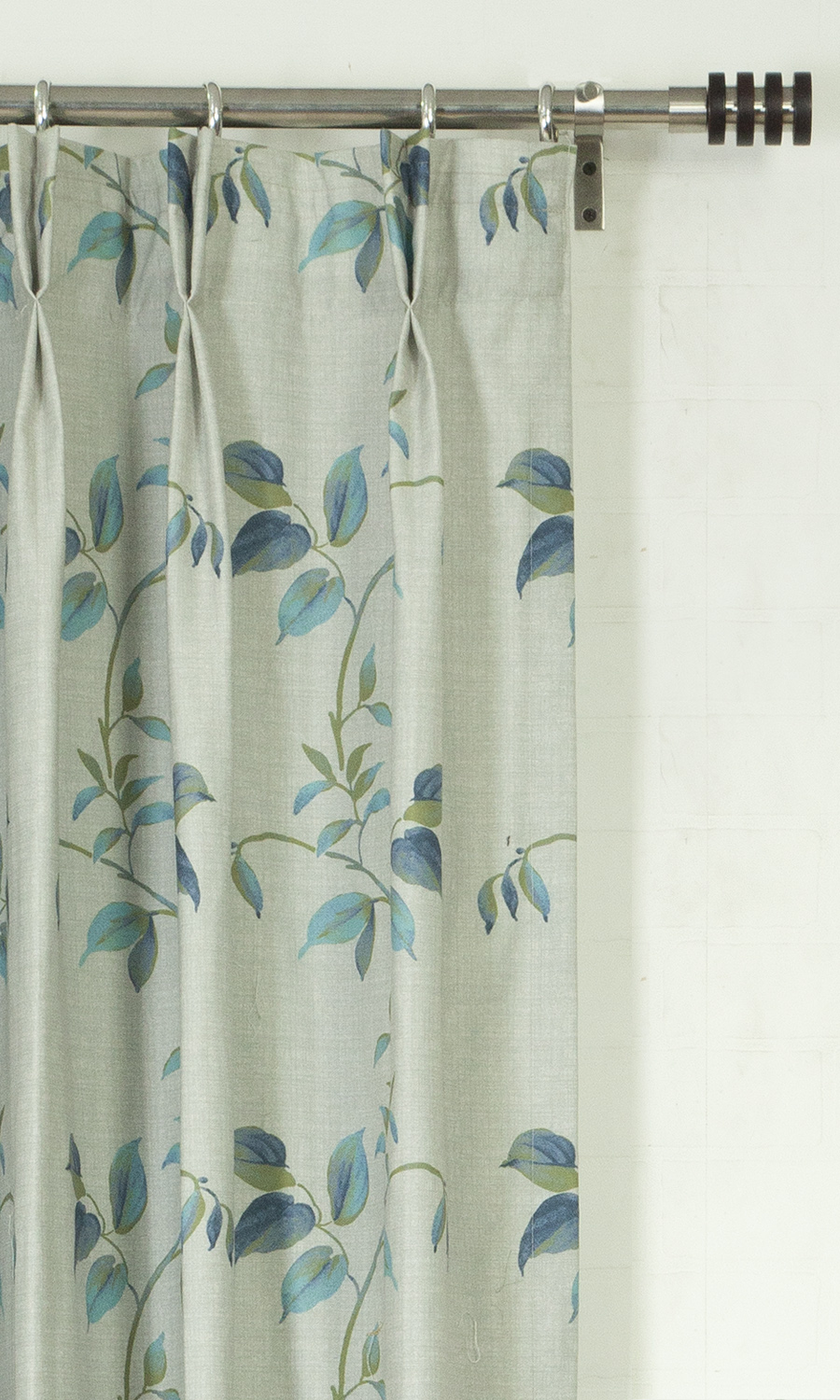 Floral Printed Custom Fake Shades For Dining Room