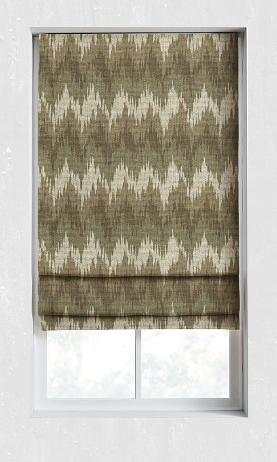 Affordable Custom Roman Shades