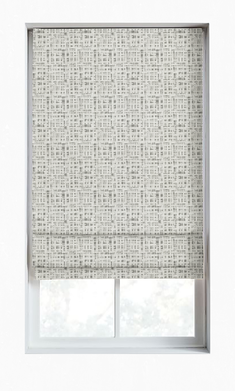 Abstract Custom Roman Blinds