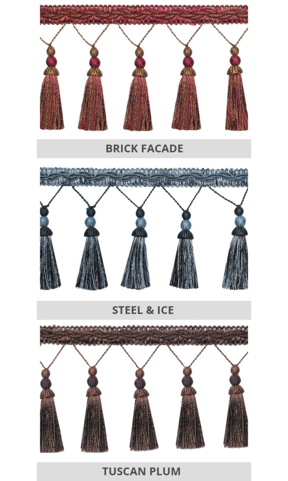Tassel Trims For Fake Shades And Curtains