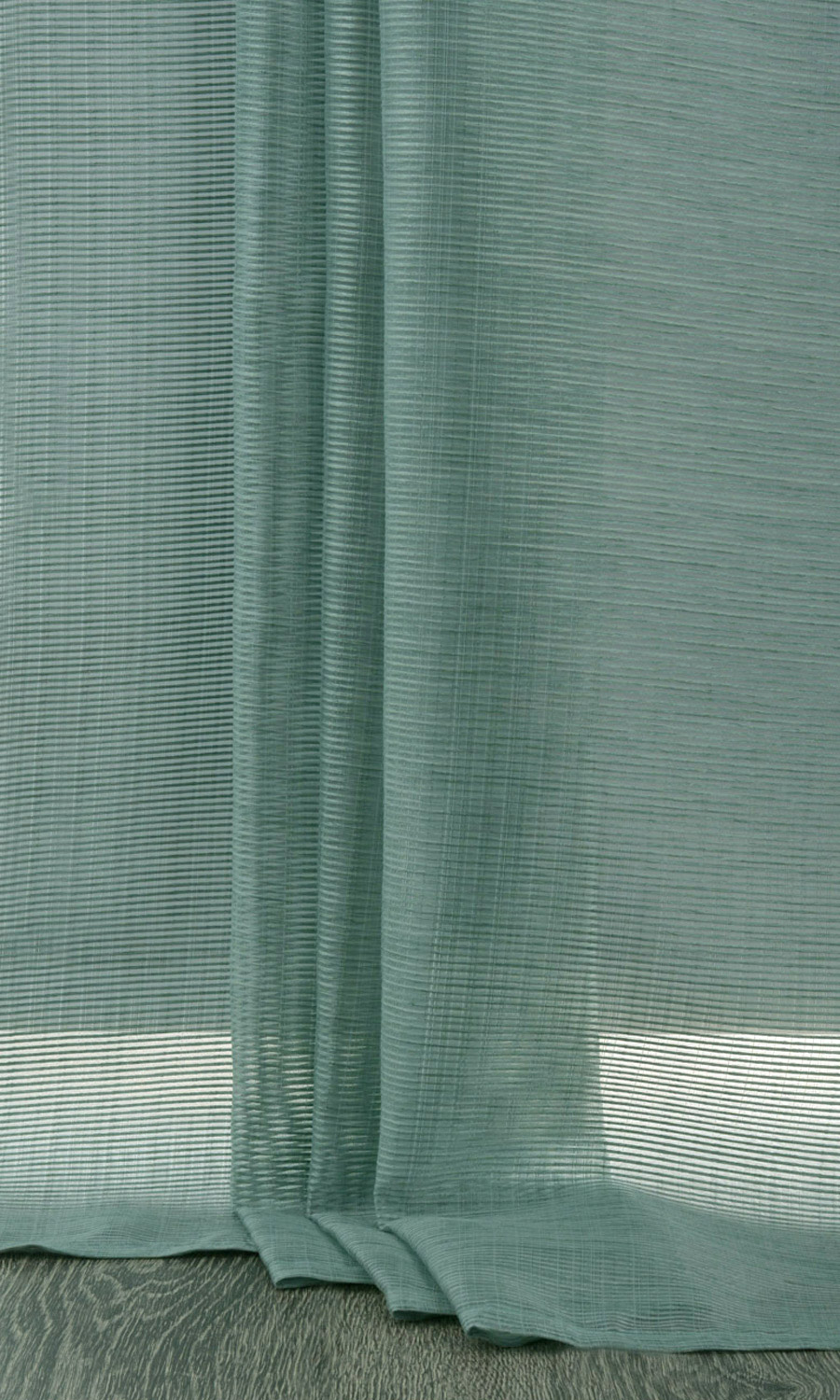 Green Striped Extra Long Drapes