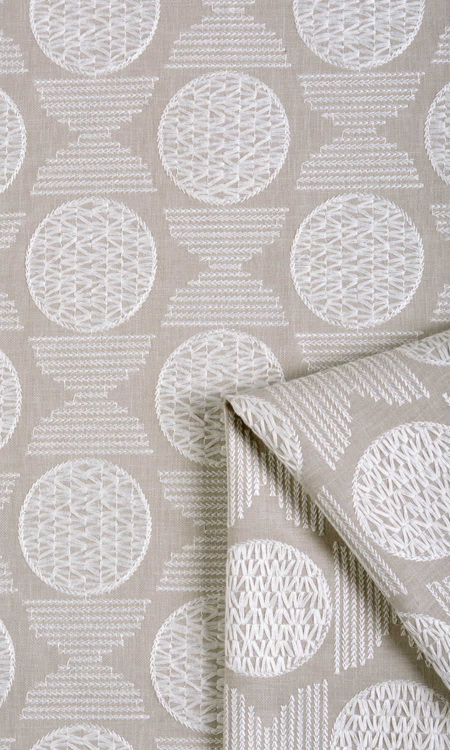 Cotton Custom Fake Shades For Dining Room