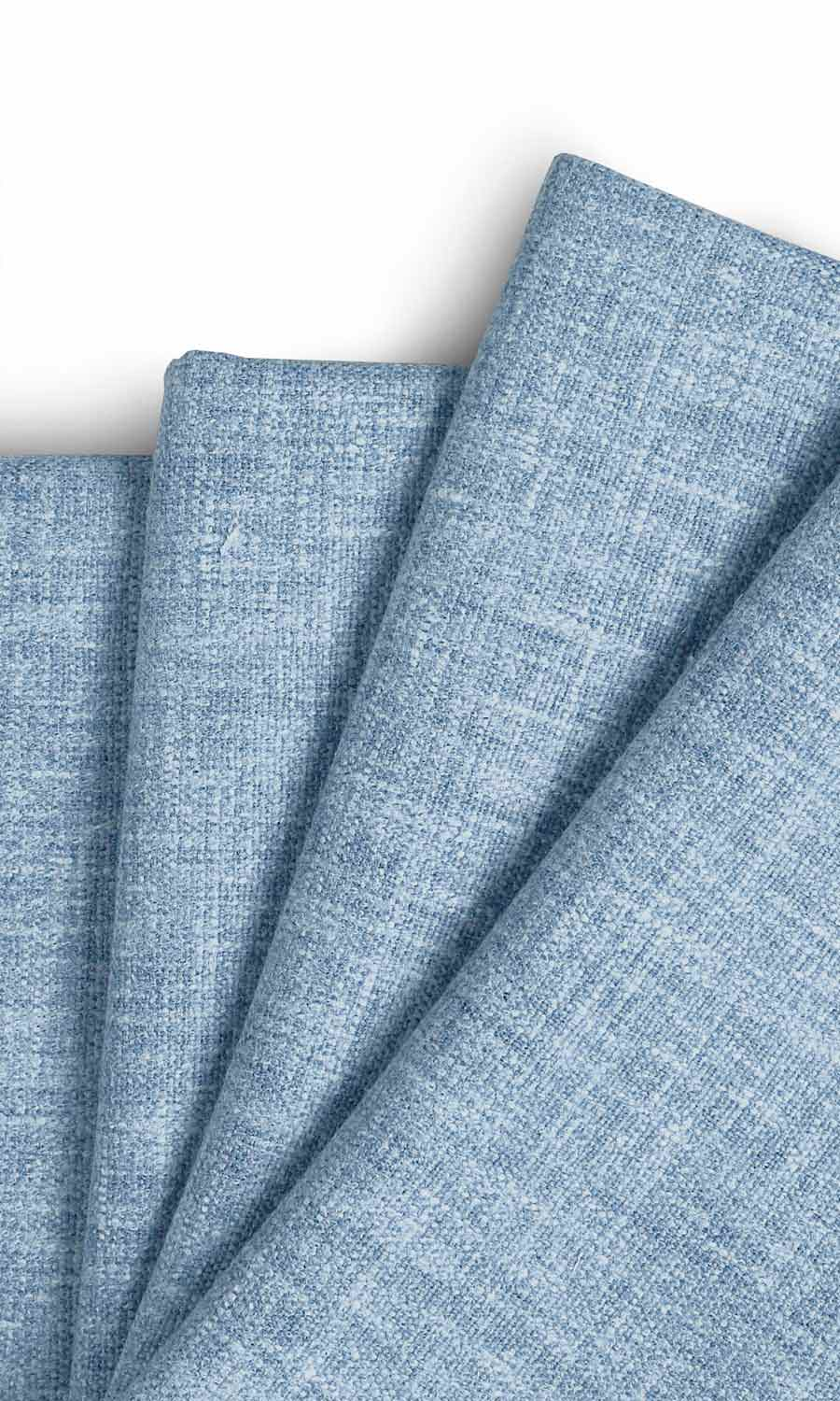 Blue Plain Custom Drapery