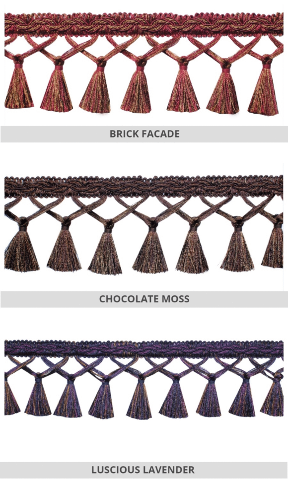 Tassel Trims For Roman Shades And Drapes