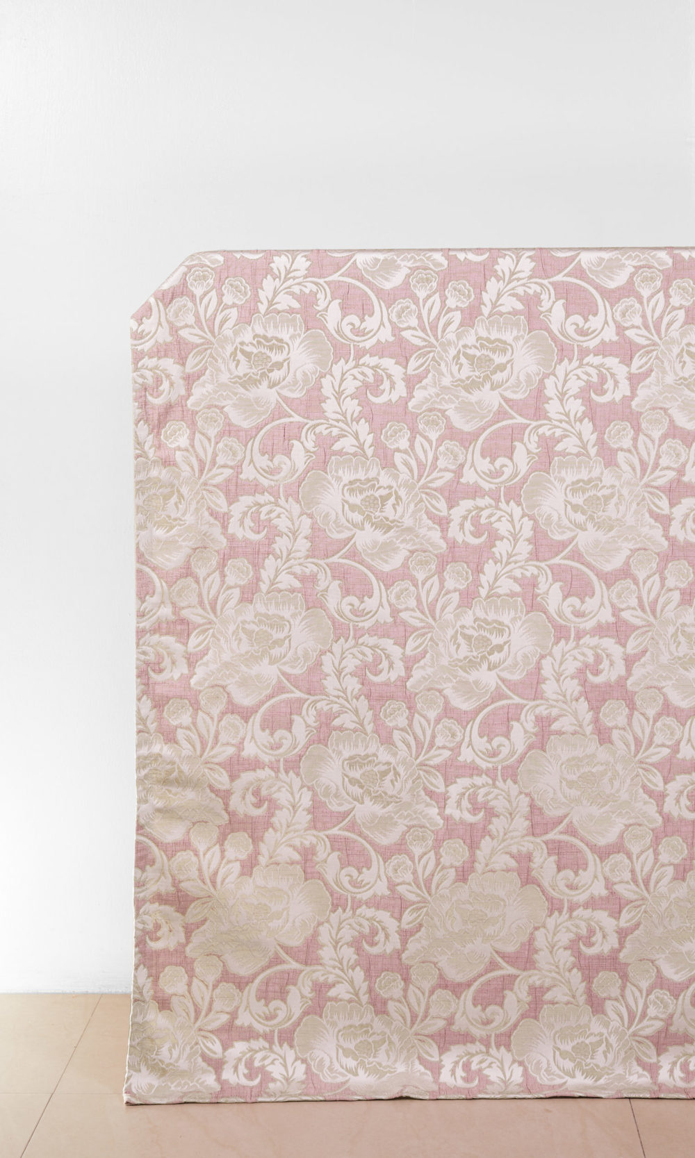 Floral Printed Custom Drapes For Dining Room