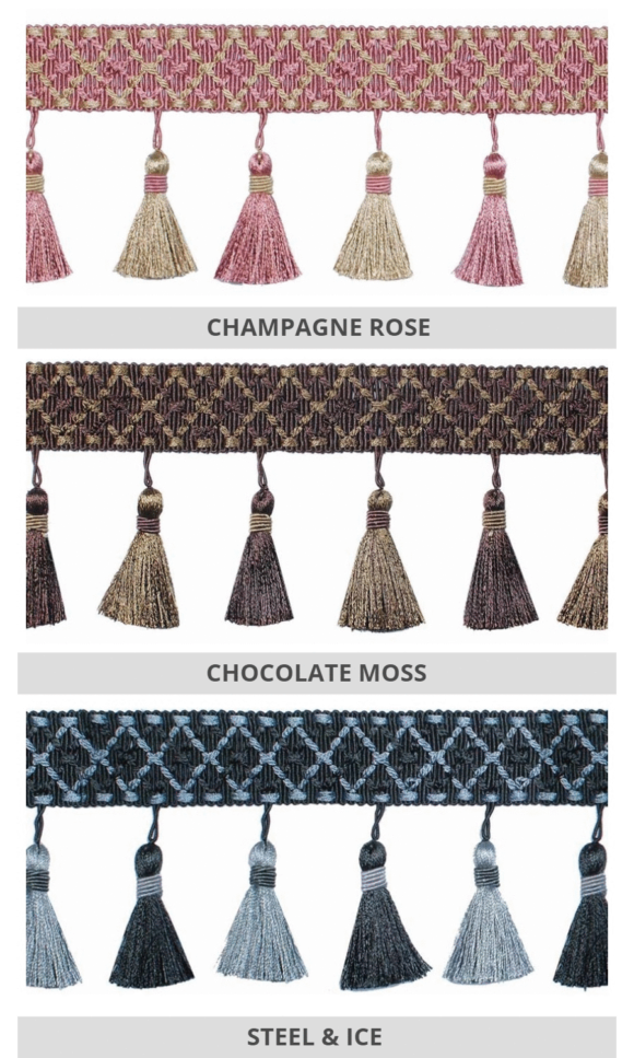 Tassel Trims For Fake Shades & Drapery