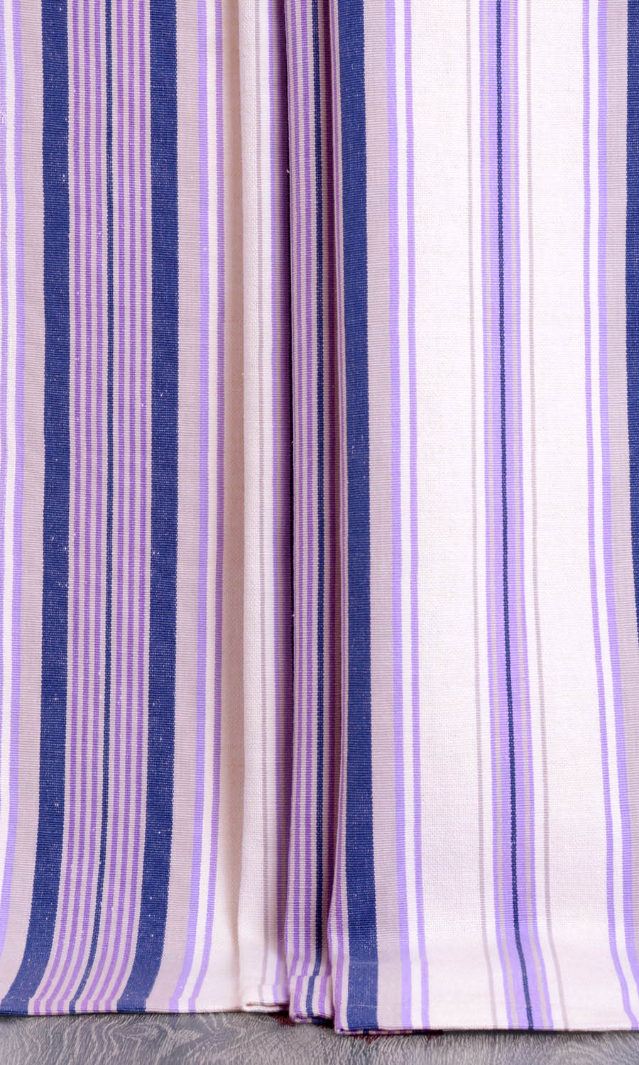 Striped Custom Long Curtains For Bedroom
