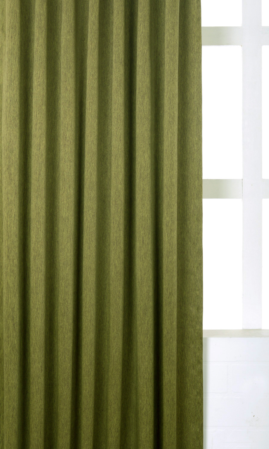 Green Custom Curtains