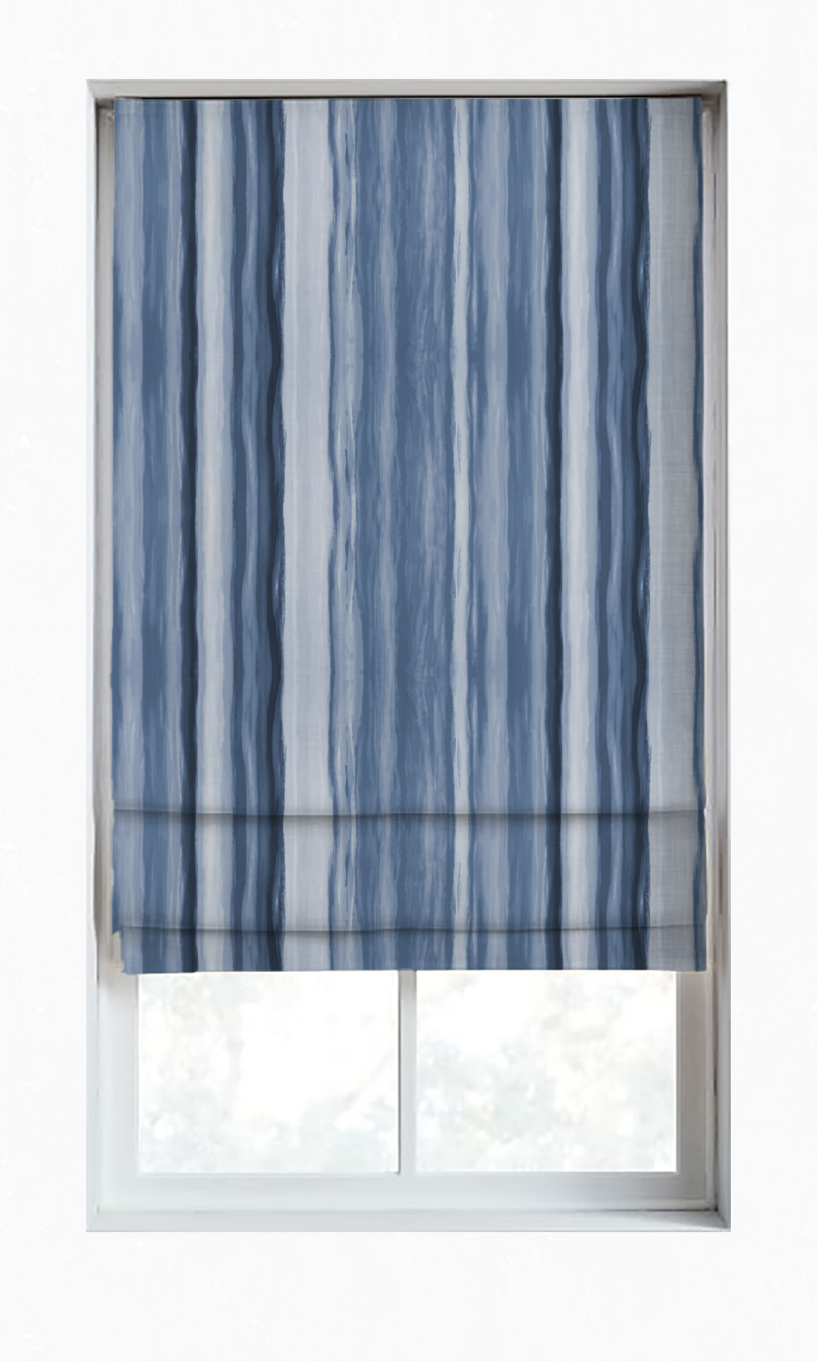Custom Fake Roman Shades