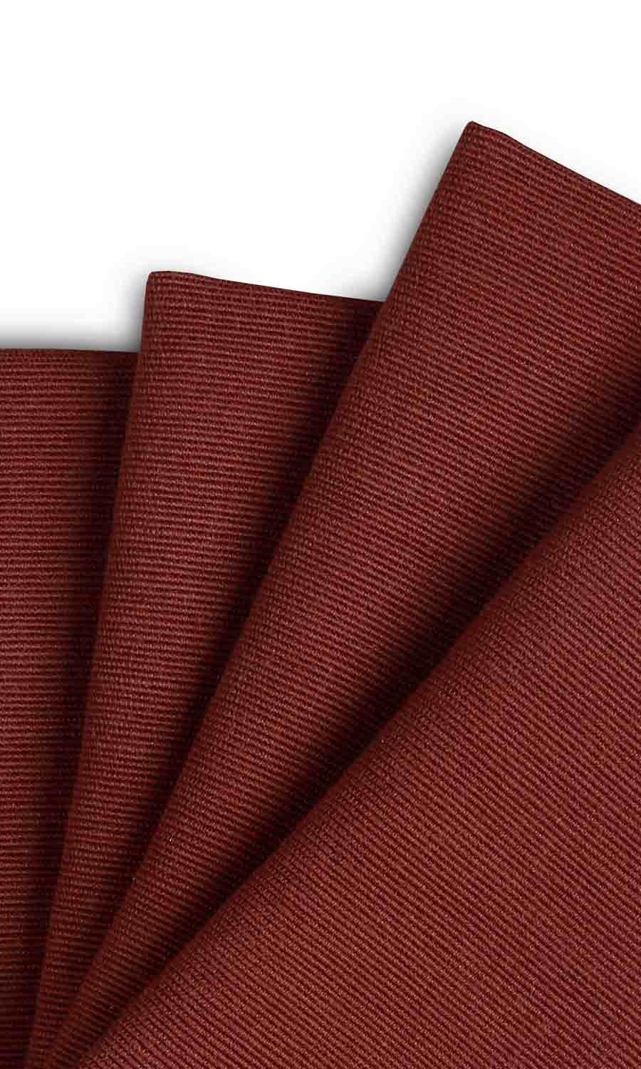 Red Extra Long Custom Curtains