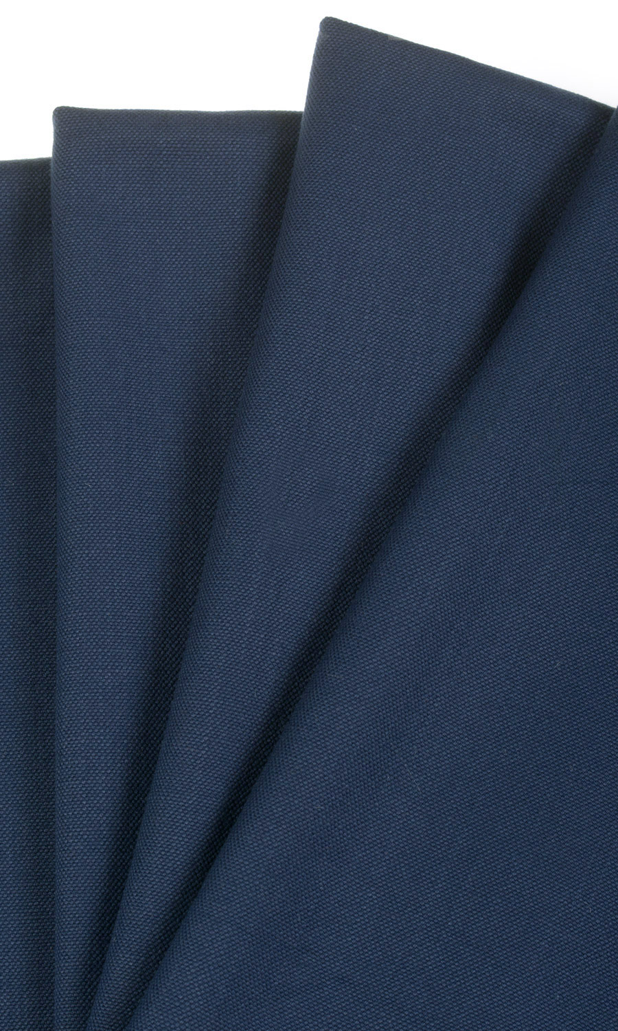 Blue Cotton Custom Drapes