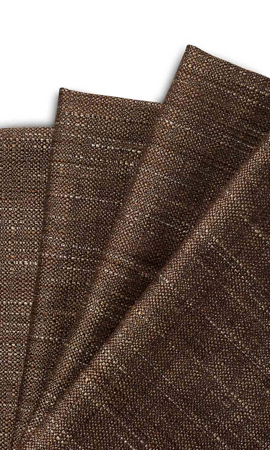 Brown Custom Curtain For Living Room