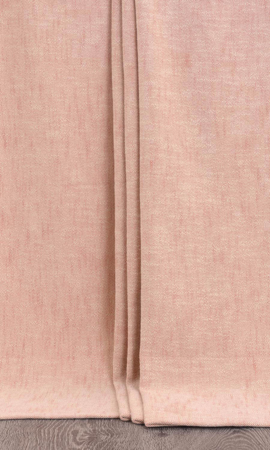 Pink Cotton Custom Drapes For Dining Room