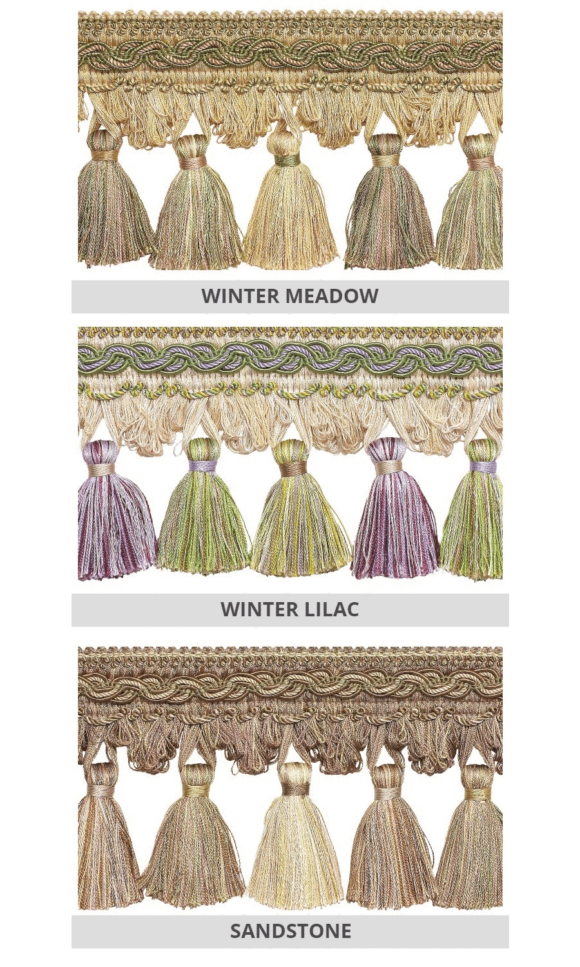 Tassel Trims For Drapery & Window Shades
