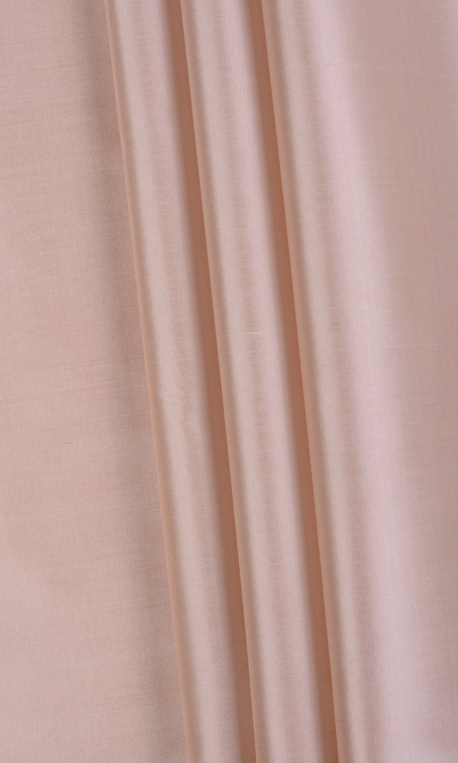 Peach Silk Window Curtain